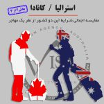 مقایسه کانادا و استرالیا