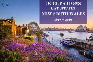لیست مشاغل new south wales