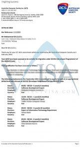 ویزای کار استرالیا مهندسی کامپیوتر