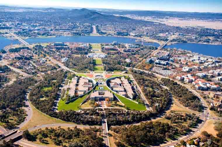درباره استرالیا شهر کامبرا