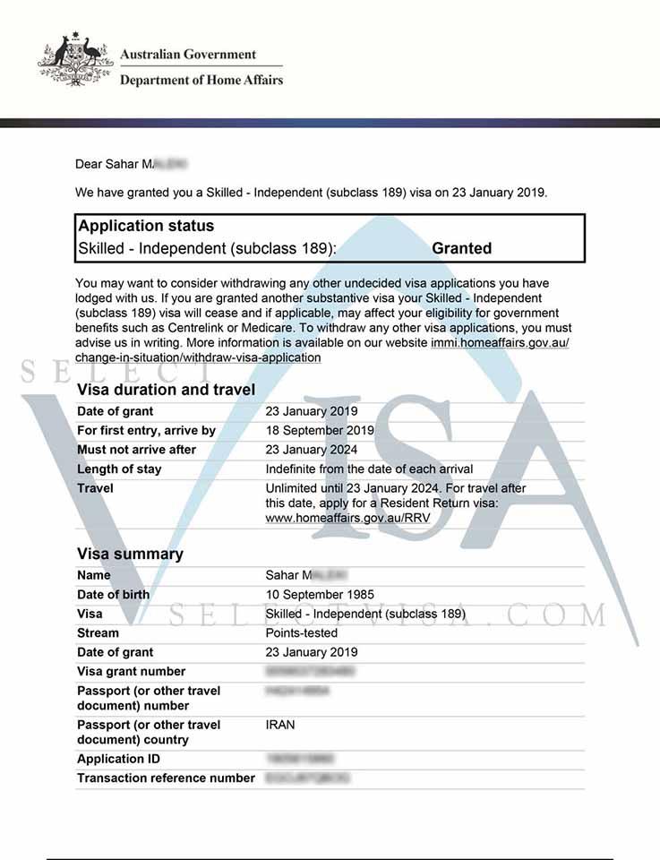 ویزای استرالیا مهندس صنایع