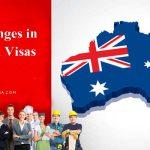 تغییرات ویزاهای تخصصی استرالیا