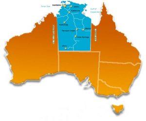 قلمرو شمالی استرالیا Northern Territory
