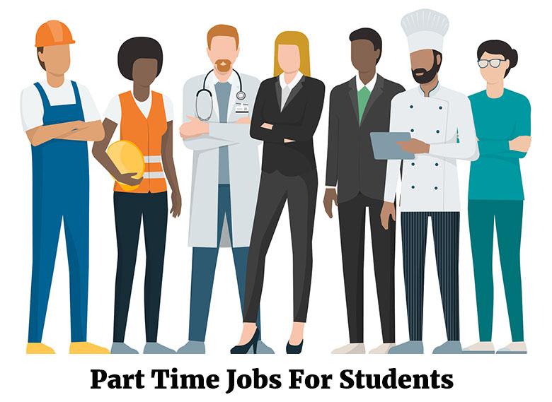 کار پاره وقت برای دانشجویان