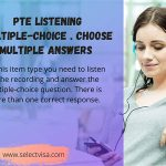 pte Listening: Multiple-choice . choose multiple answers