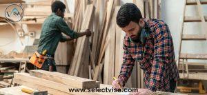 مراحل مهاجرت از طریق شغل نجاری به استرالیا